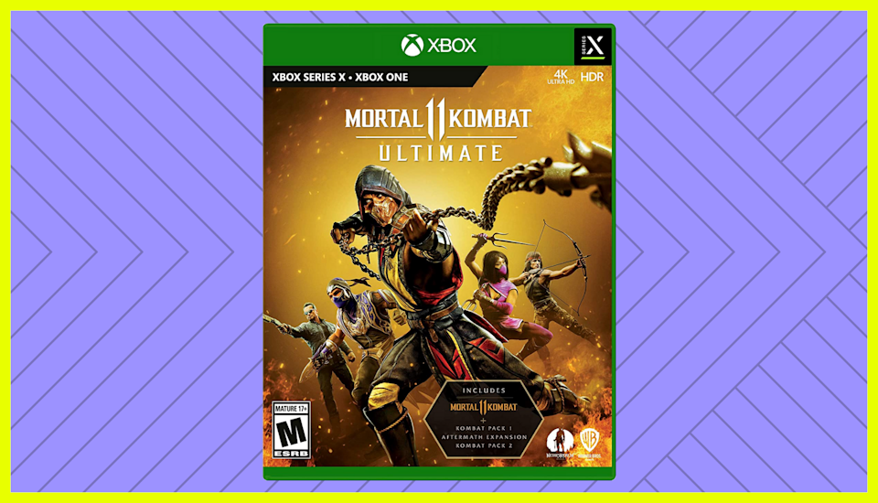 Save 20 percent on Mortal Kombat 11 Ultimate for Xbox Series X. (Photo: Amazon)