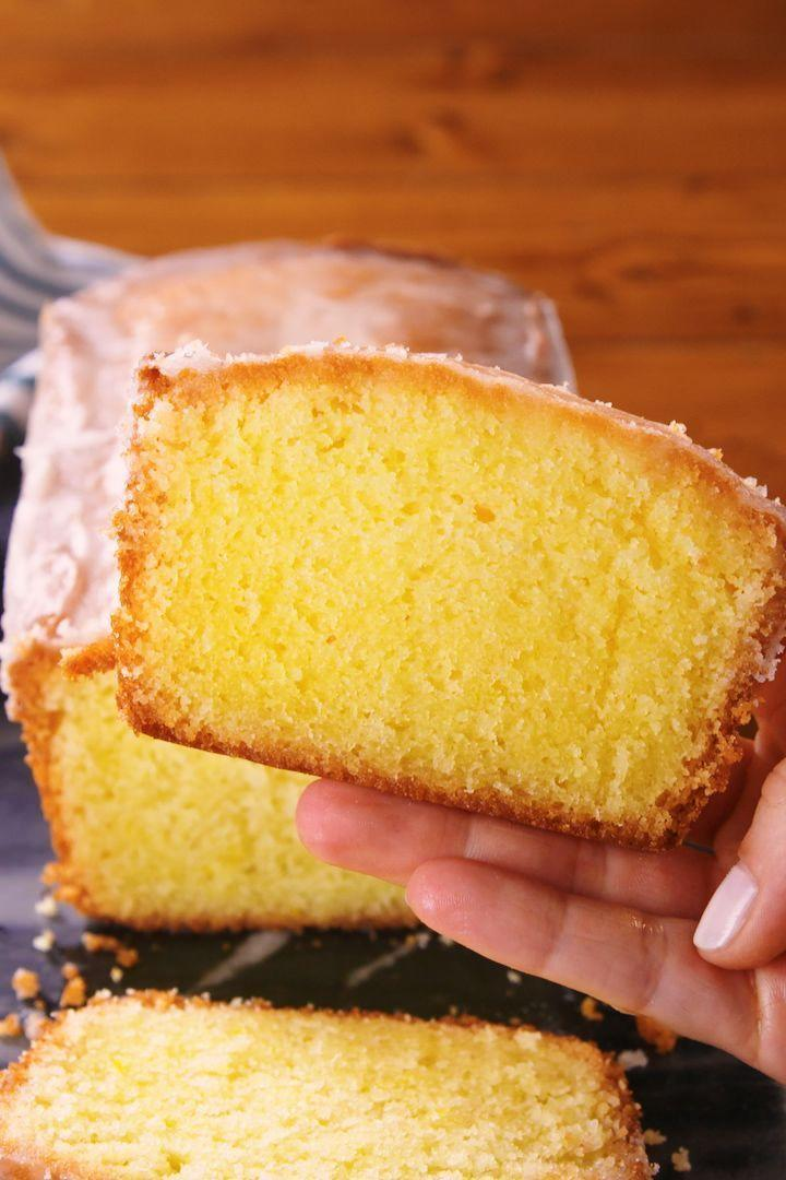 """<p>Is it any surprise that lemon drizzle cake is one of the nation's favourite <a href=""""https://www.delish.com/uk/cooking/recipes/g32365363/chocolate-cupcake-recipes/"""" rel=""""nofollow noopener"""" target=""""_blank"""" data-ylk=""""slk:cake"""" class=""""link rapid-noclick-resp"""">cake</a> flavours? It's zesty, vibrant, moist and downright delicious. And only six ingredients make up our super easy lemon drizzle cake recipe.</p><p>Get the <a href=""""https://www.delish.com/uk/cooking/recipes/a28867437/lemon-drizzle-cake/"""" rel=""""nofollow noopener"""" target=""""_blank"""" data-ylk=""""slk:Lemon Drizzle Cake"""" class=""""link rapid-noclick-resp"""">Lemon Drizzle Cake</a> recipe.</p>"""
