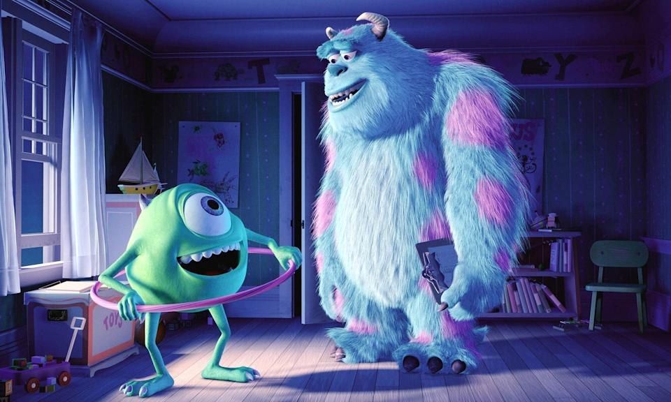 <p><strong>Rating:</strong> G</p> <p><strong>Age of kids that can handle it: </strong>5 and up</p> <p><strong>Why it's scary:</strong> Most of the violence or scarieness is pretty cartoonish, though Sully does let out a few pretty gnarly roars that could be scary to younger kids.</p> <p><span>Watch <b>Monster's Inc.</b> on Disney+ now!</span></p>