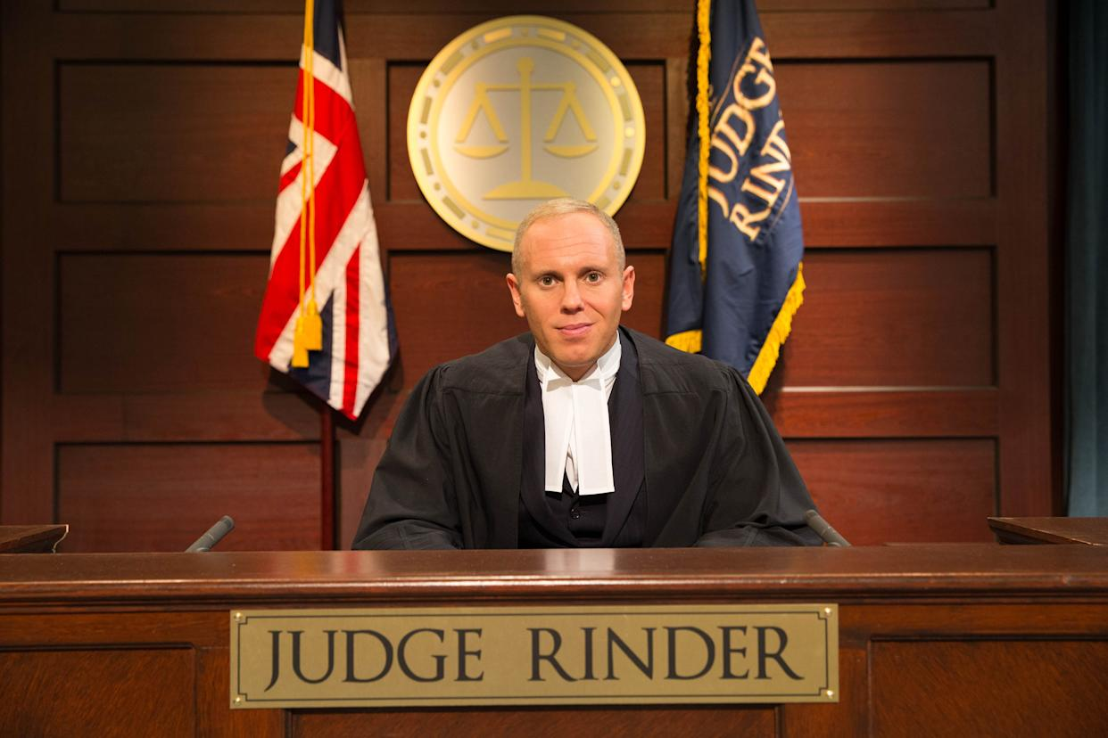 'Judge Rinder' is currently filling the gap left by the axing of Jeremy Kyle (Credit: ITV)