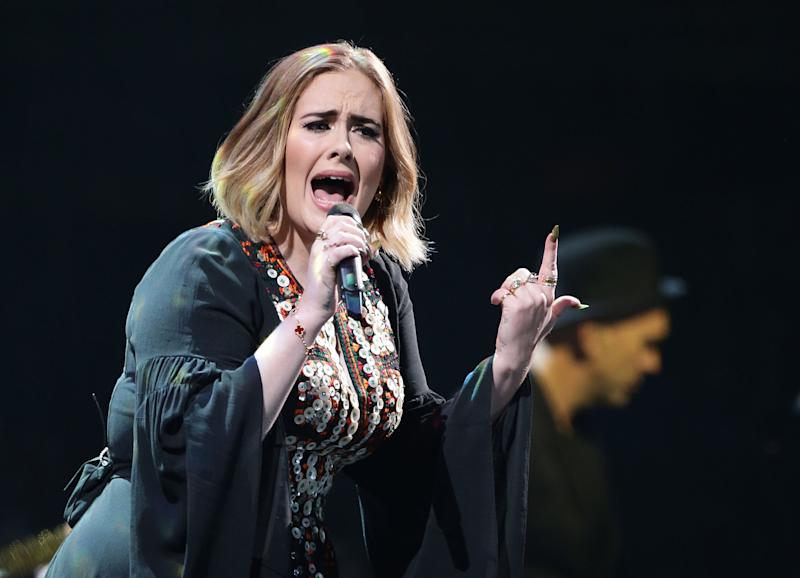 """<p>The singer issued a """"power to the peaceful"""" rallying cry.</p>"""