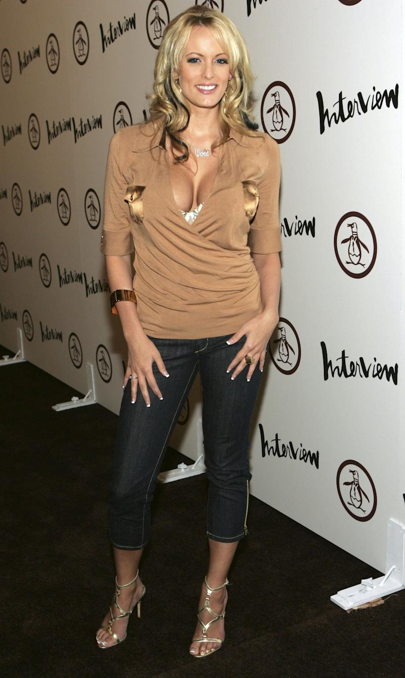 At the grand opening of an Original Penguin on Nov. 2, 2006, in Hollywood.