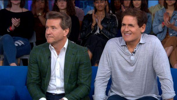 VIDEO: Mark Cuban and Robert Herjavec play 'Tanks for the Memories' (ABCNews.com)