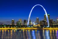 """<p><a href=""""https://www.nps.gov/jeff/index.htm"""" rel=""""nofollow noopener"""" target=""""_blank"""" data-ylk=""""slk:Gateway Arch National Park"""" class=""""link rapid-noclick-resp""""><strong>Gateway Arch National Park </strong></a></p><p>This St. Louis landmark welcomes visitors to the Western half of the U.S. and officially was upgraded from the Jefferson National Expansion Memorial in 2018. While this park is small, it's a must- visit. Take the tram to the top of the arch for unbelievable views. </p>"""