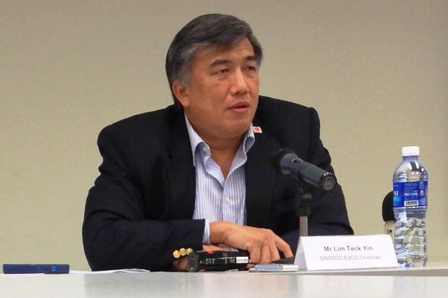 Lim Teck Yin, chairman of the SEA Games organising committee's exco. (Yahoo Photo)