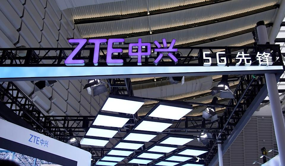 The telecommunications company ZTE was an early target of the Trump administration, placed on the US Commerce Department's entity list in 2018. Photo: Reuters