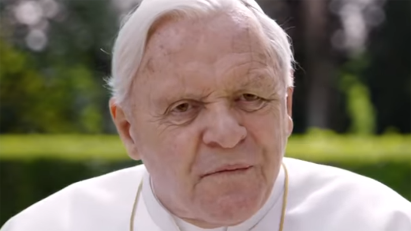'The Two Popes': Anthony Hopkins and Jonathan Pryce Recreate Two Pontiffs' Struggle