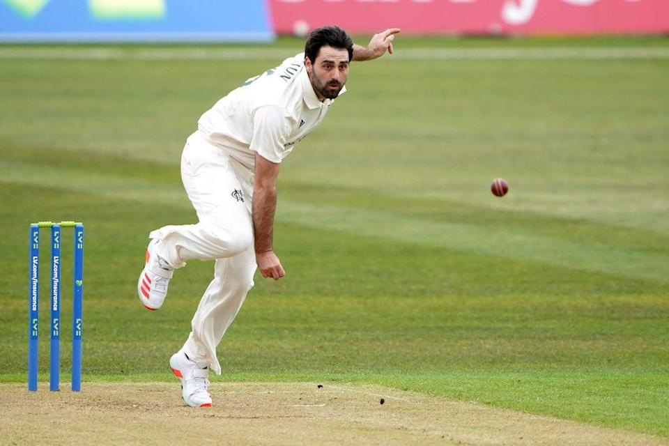 Brett Hutton took three wickets for title-chasing Nottinghamshire (Zac Goodwin/PA) (PA Wire)