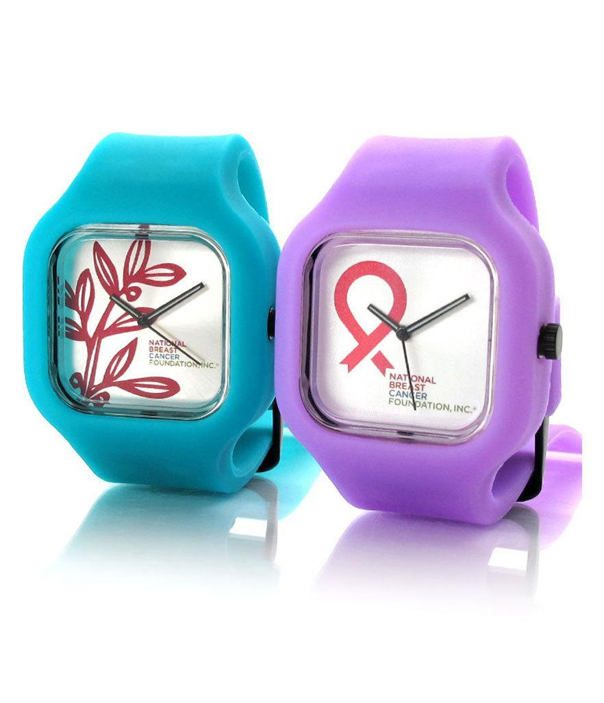 """<p>Modify Watches NBCF Large Pink Ribbon Watch, $50, <a href=""""http://modifywatches.com/collections/national-breast-cancer-foundation"""" rel=""""nofollow noopener"""" target=""""_blank"""" data-ylk=""""slk:modifywatches.com"""" class=""""link rapid-noclick-resp"""">modifywatches.com</a></p>"""