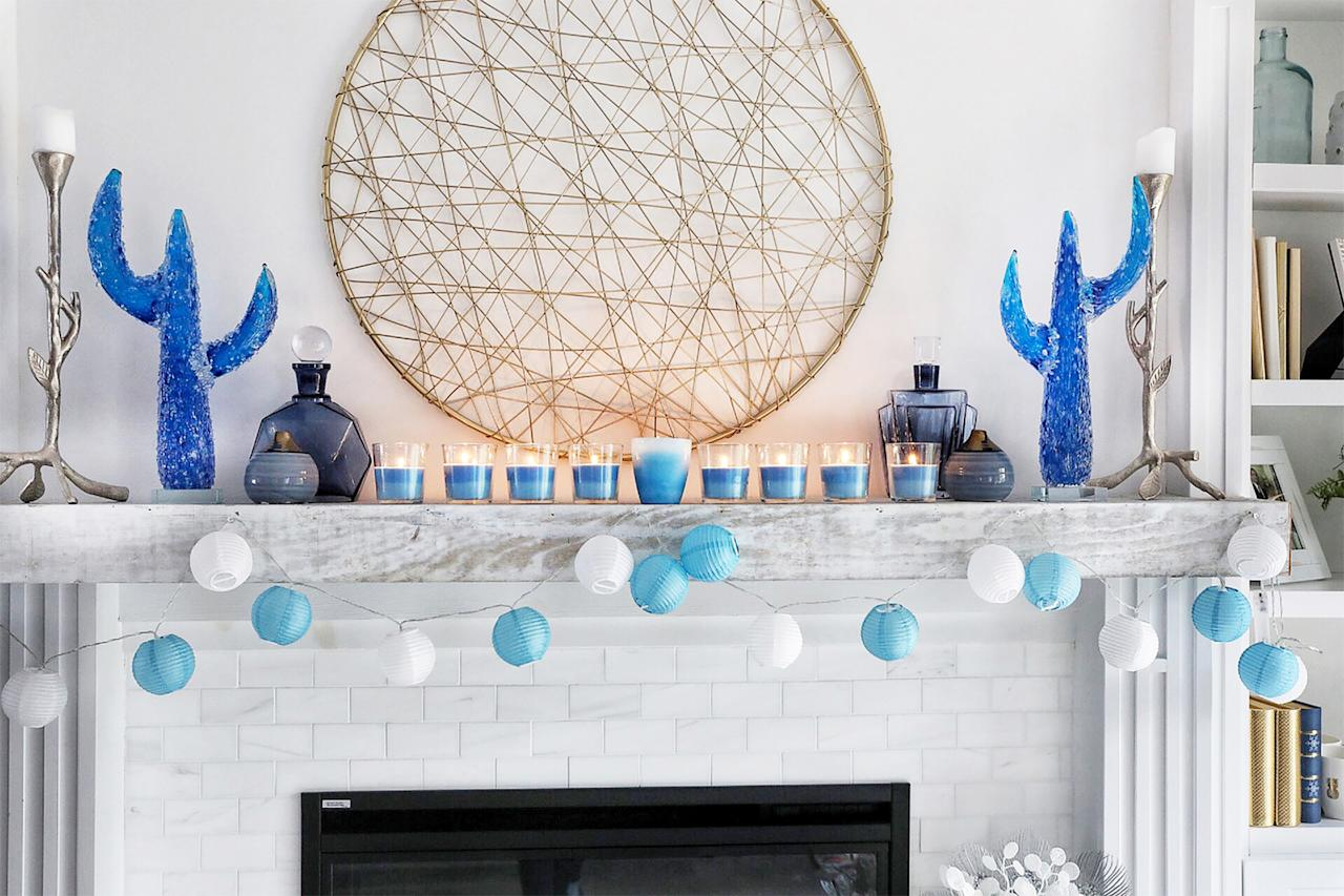 <p>While a traditional menorah incorporates tall votive candles, this kid-friendly version calls for two easy-to-find ingredients: crayons and a common pantry staple.</p>