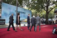 <p>Harry brought war veterans to support armed forces charity Contact (WB) </p>