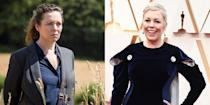 <p>Olivia Colman debuted a new platinum blonde pixie at the 92nd Academy Awards, making her look even more different from her <em>Broadchurch </em>character than before.</p>