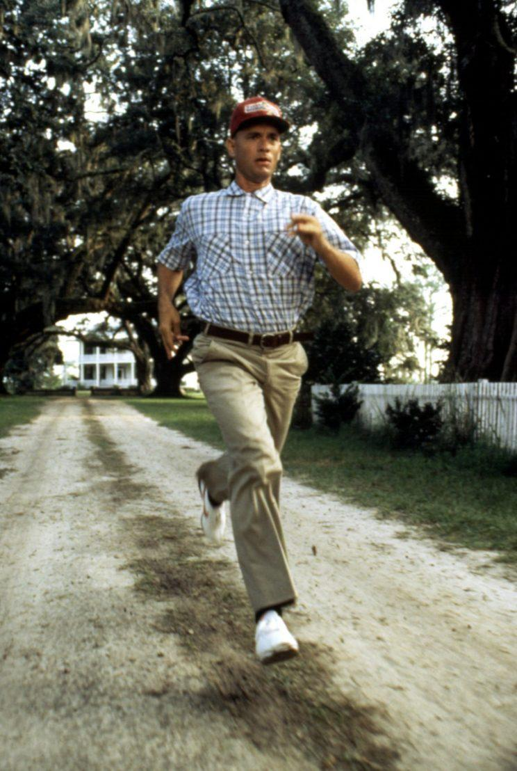 Tom Hanks as Forrest Gump, running. (Photo: Paramount Pictures/ Everett Collection)