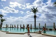 One Tunisian hotelier said it was time to rethink the sector beyond the cliches of 'camels and the beaches' (AFP/ANIS MILI)