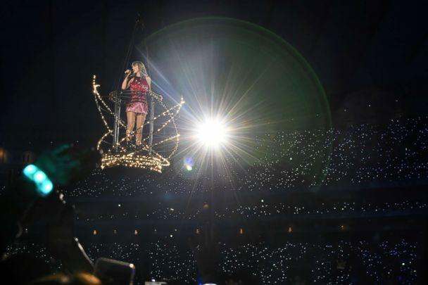 PHOTO: Taylor Swift performs during her 'Reputation Tour,' Nov. 20, 2018 in Tokyo. (Jun Sato/TAS18/Getty Images)