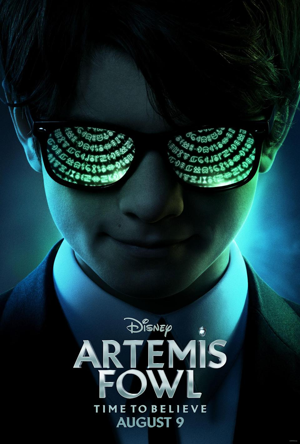<i>Artemis Fowl</i> is in cinemas 2019 (Disney)