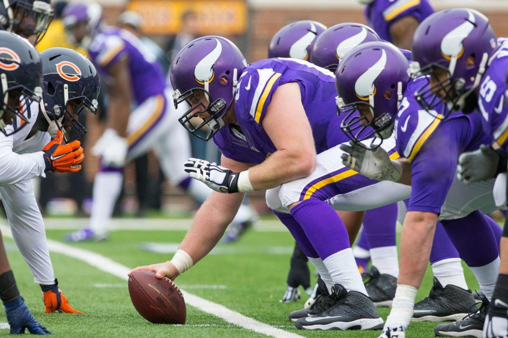 Minnesota Vikings 2017 Pre Draft Roster Overview Offensive Line