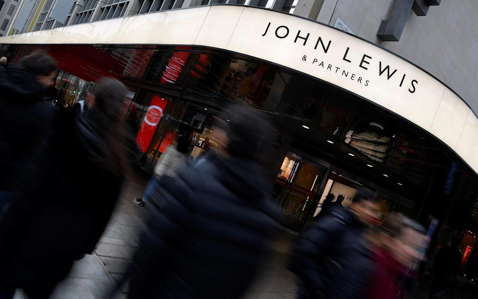 John Lewis has already announced it will close eight stores - TOBY MELVILLE/REUTERS