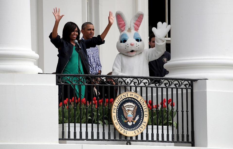 """<p>According to the <a href=""""https://www.whitehouse.gov/eastereggroll/"""" rel=""""nofollow noopener"""" target=""""_blank"""" data-ylk=""""slk:White House's website"""" class=""""link rapid-noclick-resp"""">White House's website</a>, """"The planning of the egg roll traditionally falls on first ladies, each incorporating her own tastes and interests to the event."""" The event itself dates back to 1878, but historians have suggested that President Abraham Lincoln and First Lady Mary Todd Lincoln started the egg roll festivities Americans are familiar with today.</p>"""