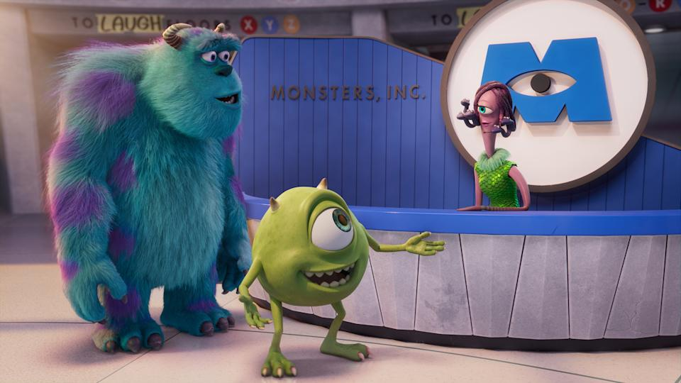 When Tyler Tuskmon arrives at Monsters Incorporated to begin his dream job as a Scarer, he discovers that scaring is out and laughter is in. As a result he is temporarily reassigned to MIFT, the Monsters Incorporated Facilities Team. (Disney)