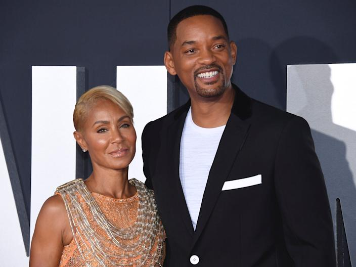 "Cast member Will Smith and Jada Pinkett Smith attend the premiere of ""Gemini Man,"" at the TCL Chinese Theater on Sunday, Oct. 6, 2019, in Los Angeles."