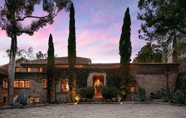The couple listed their Santa Barbara home last month for $58 million. Source: SOTHEBY'S INTERNATIONAL REALTY