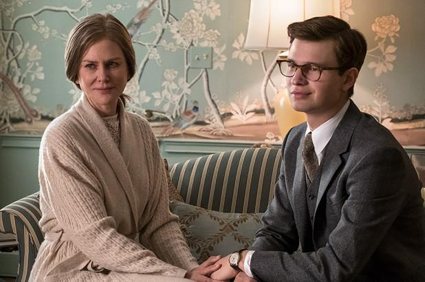 Nicole Kidman and Ansel Elgort in The Goldfinch (Credit: Warner Bros)