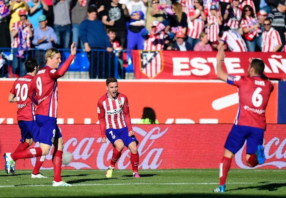 Atletico Madrid have won all of their last seven games and have not conceded a goal in the last 602 minutes (AFP Photo/Pierre-Philippe Marcou)