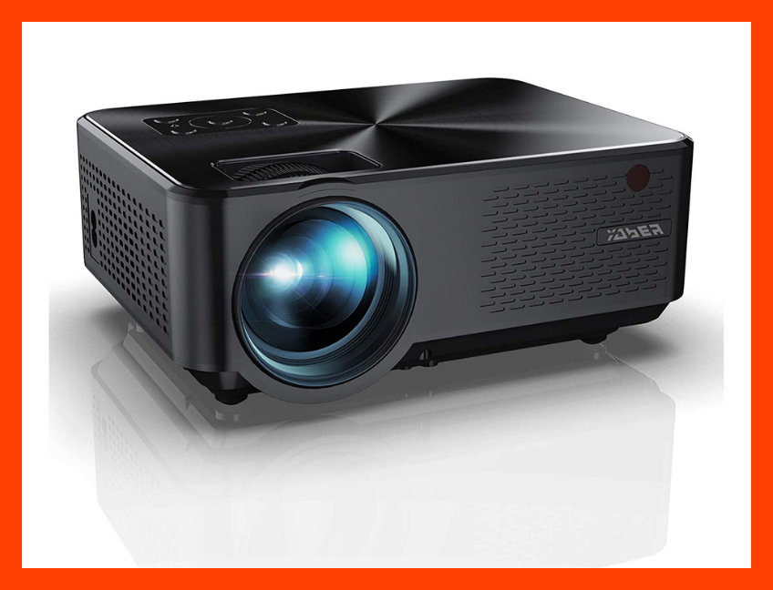 The Yaber Y60 Portable Projector is on sale for $85, or $145 off its list price! (Photo: Amazon)
