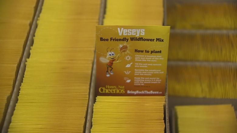 P.E.I.'s Veseys Seeds featured on more than 10 million boxes of Honey Nut Cheerios