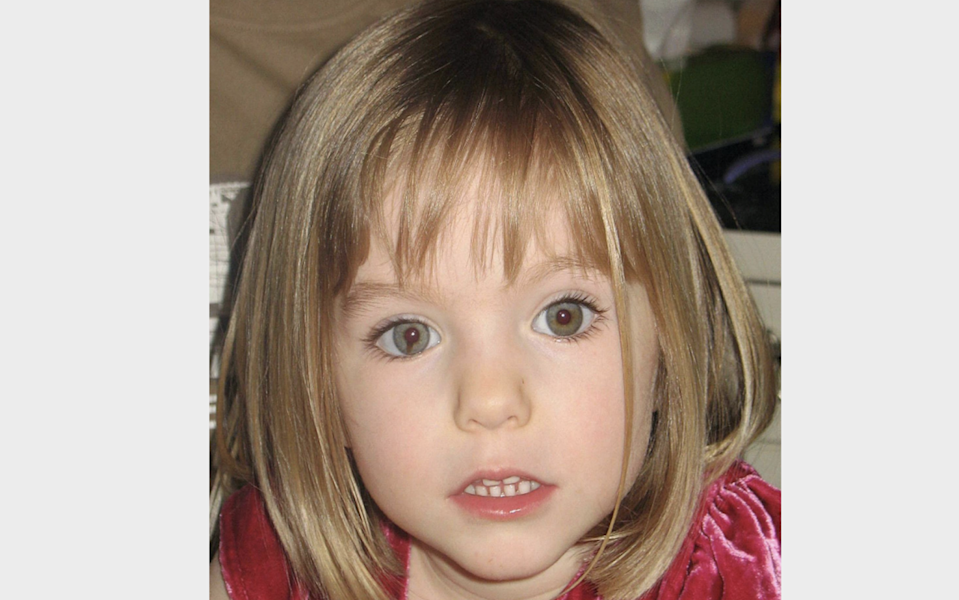 The Met Police has denied reports a letter sent to Madeleine McCann's parents revealed evidence of her death. (PA)