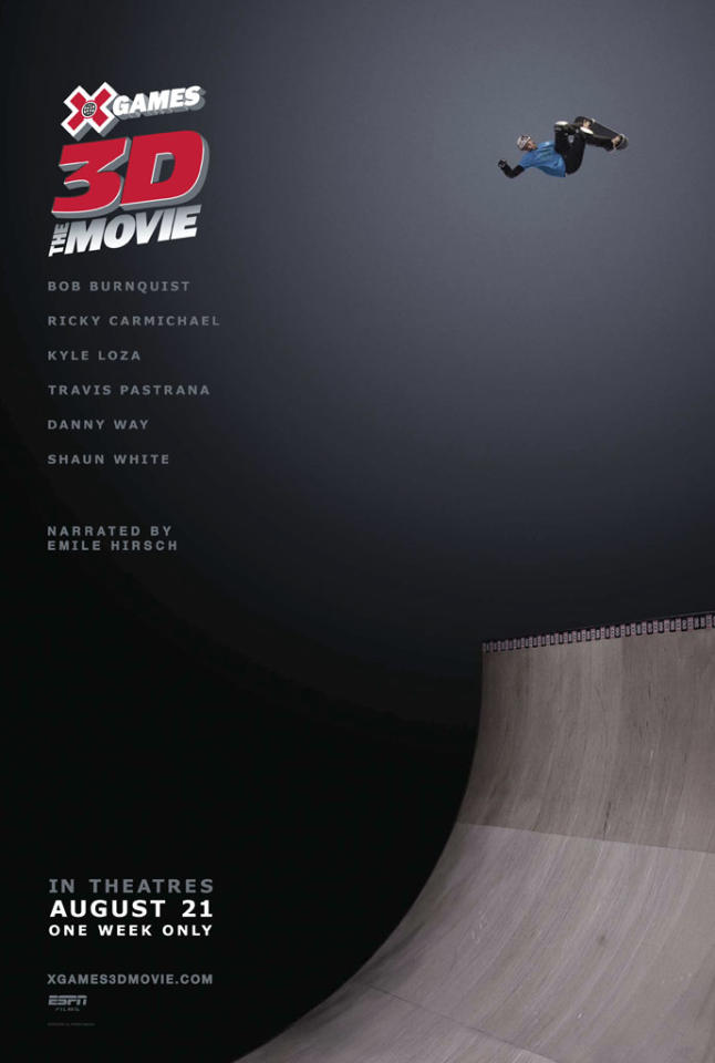 """Walt Disney Pictures' <a href=""""http://movies.yahoo.com/movie/1810092948/info"""">X Games 3D: The Movie</a> - 2009"""