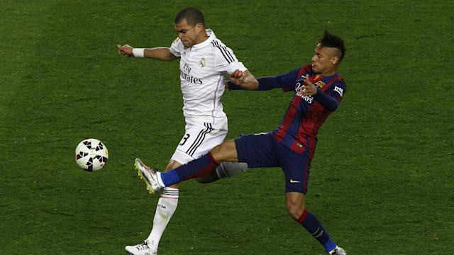 Pepe vs. Neymar, Real Madrid - Barcelona