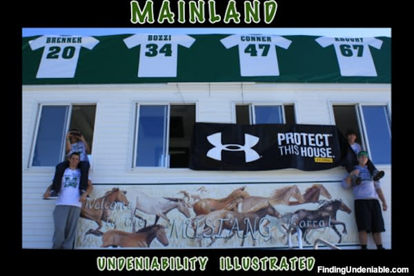Mainland Regional competes in Under Armour's Finding Undeniable contest