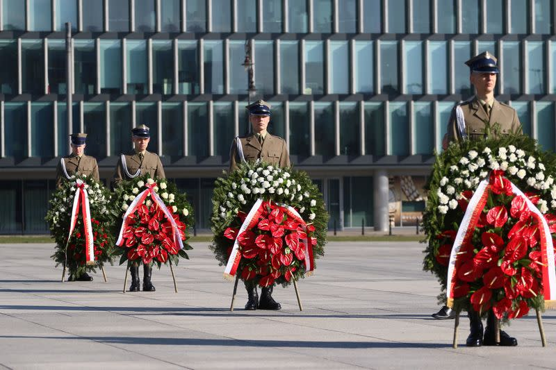 The tenth anniversary of the crash of the Polish government plane in Smolensk