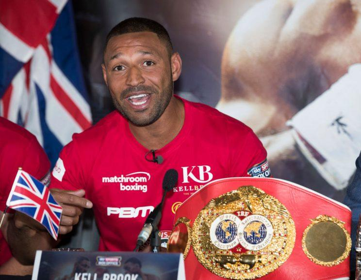 Kell Brook finally has a chance to make a name for himself Saturday against Errol Spence. (Getty)