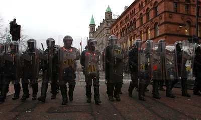 Belfast Police Accused Of Being 'Heavy-Handed'