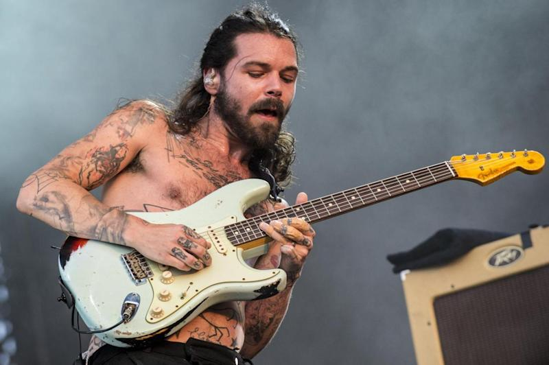 Headliner: Biffy Clyro's Simon Neil, who will play at Download (Redferns)