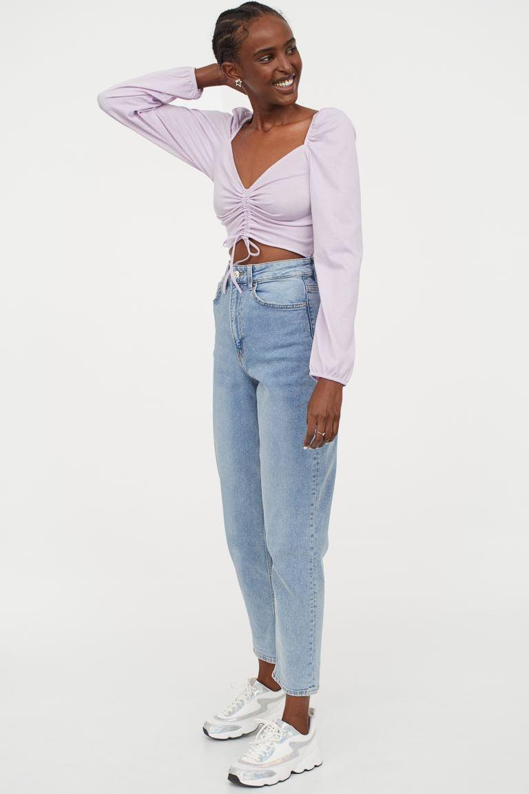 <p>These <span>H&M Mom High Ankle Jeans</span> ($30) will be your new go-to.</p>