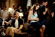 """<p>With graduation approaching, an entire senior class gathers at a wealthy classmate's home for one final, epic party. Over the course of the night, several different romances start, stop, and struggle as everyone tries to figure out what they regret and what - and who - they still want.</p> <p>Watch <a href=""""http://www.netflix.com/watch/15856715"""" class=""""link rapid-noclick-resp"""" rel=""""nofollow noopener"""" target=""""_blank"""" data-ylk=""""slk:Can't Hardly Wait""""><strong>Can't Hardly Wait</strong></a> on Netflix now.</p>"""