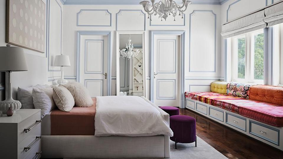 One of the bedrooms - Credit: Photo: Courtesy of Douglas Friedman