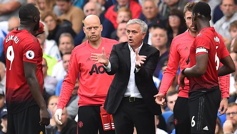 Manchester United's Jose Mourinho walks out demanding 'respect' after loss