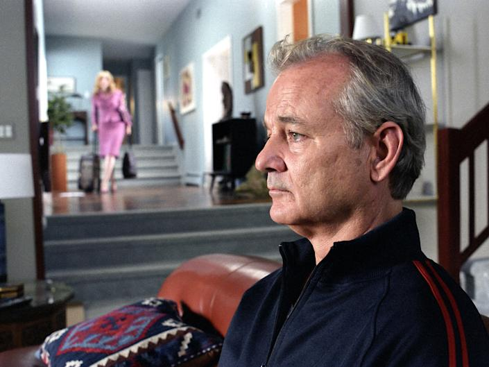 Murray in Jim Jarmusch's 'Broken Flowers'David Lee/Bac Focus Features/Kobal/Rex