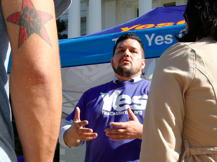 Marcus Ruiz Evans, Yes California Independence Campaign, calexit
