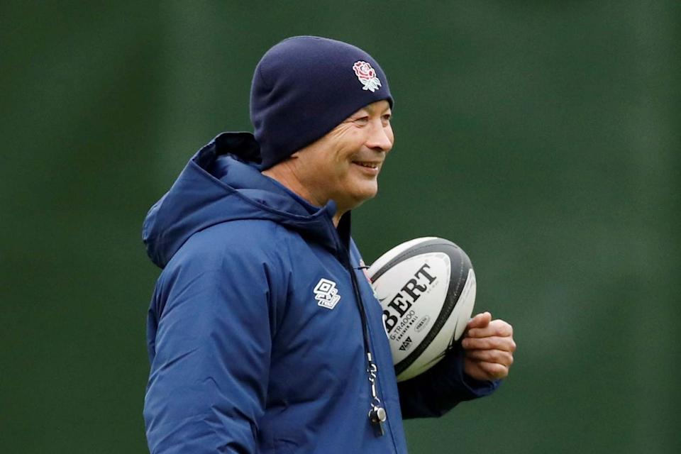 Eddie Jones is confident in England's preparations despite the cancellation of their match against the BarbariansPool via REUTERS