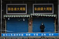 A food market in the city of Wuhan was linked to several early cases