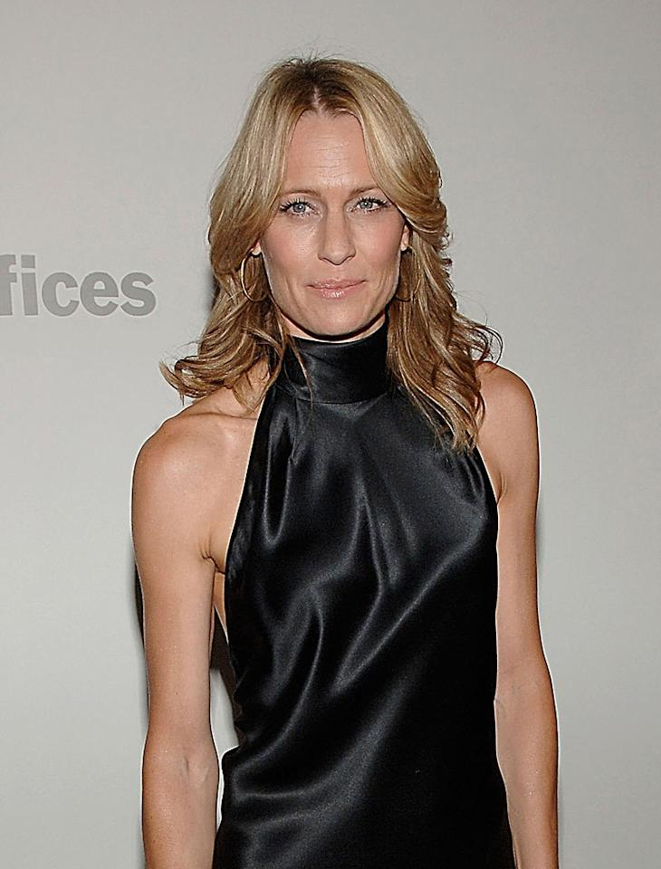 """<a href=""""http://movies.yahoo.com/movie/contributor/1800019047"""">Robin Wright Penn</a> at the New York premiere of <a href=""""http://movies.yahoo.com/movie/1809739709/info"""">What Just Happened</a> - 10/01/2008"""