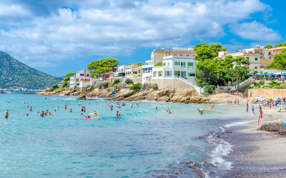 Majorca has both low case rates and encouraging vaccination figures - Getty