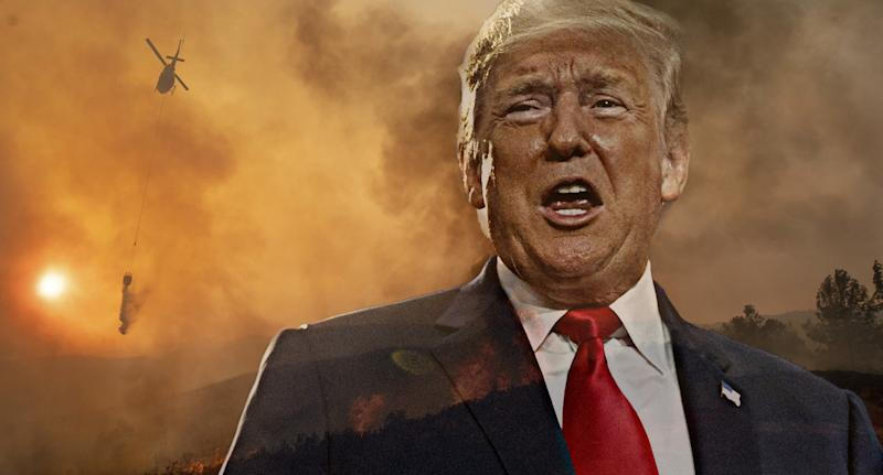 Cal Fire official on Trump's wildfire theories: 'I don't know what he's getting at'