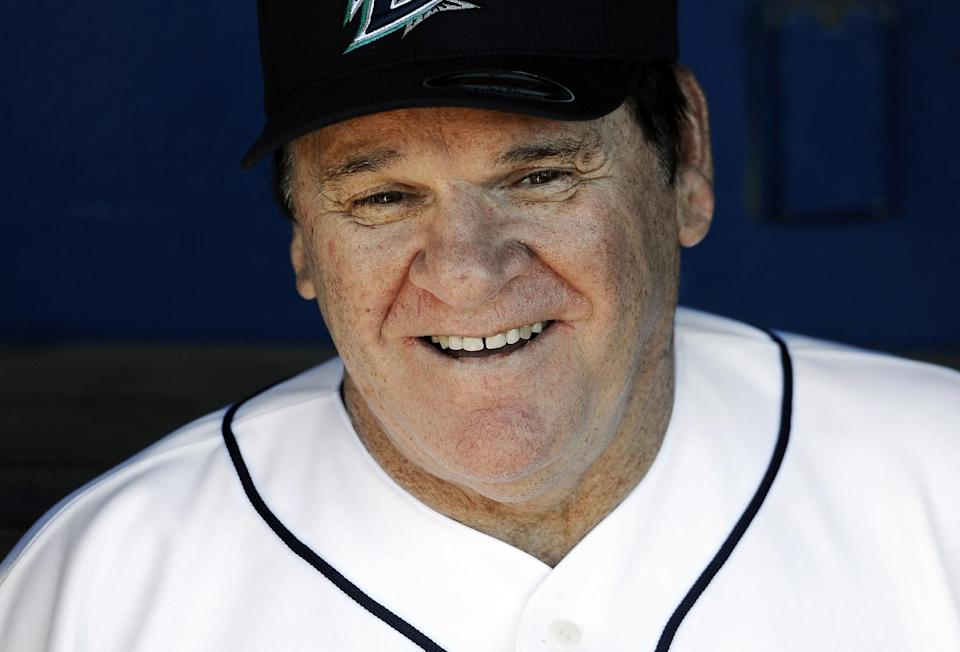 In 1989, Pete Rose signed a deal that banned him from baseball because he wagered on the sport. (AP)